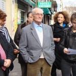 Gilbert Bertolini, président de l'association les Amis de la Commune.