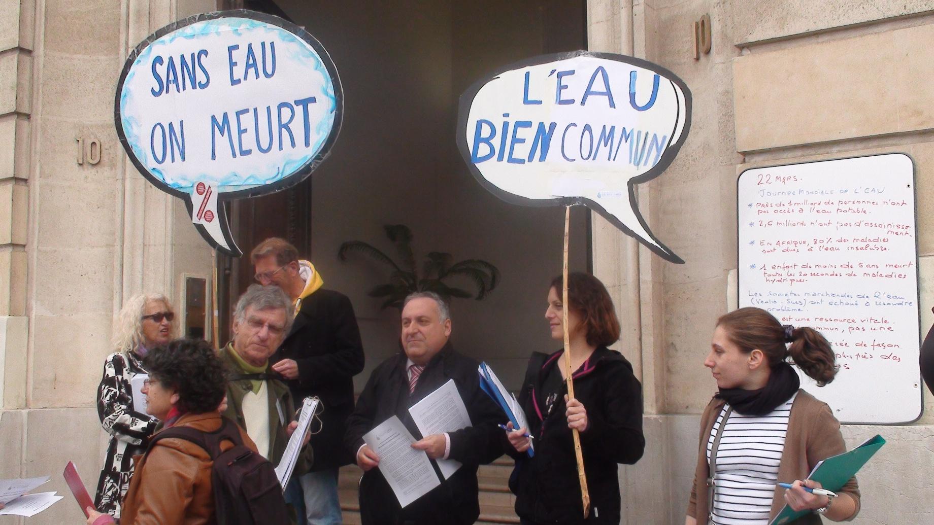 22 Mars, la bataille de l'eau au grand jour avec la «Coordination Eau Bien Commun PACA» !