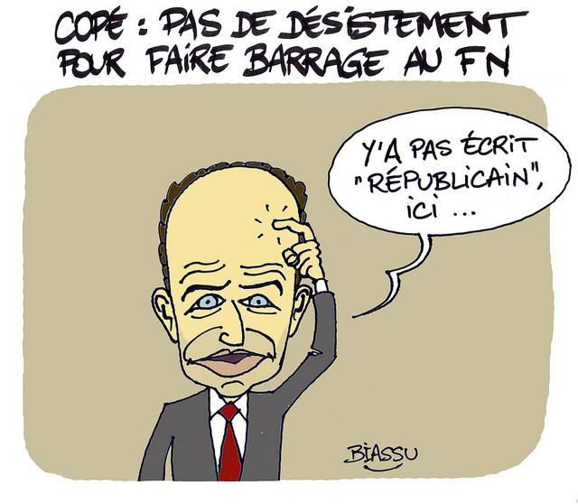 Faire  «Front Républicain» pour ne pas se réveiller un jour avec la gueule de Bois !