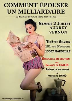 Soirée spectacle de soutien aux «FRALIB» Au SILVAIN dans le 7eme de Marseille !
