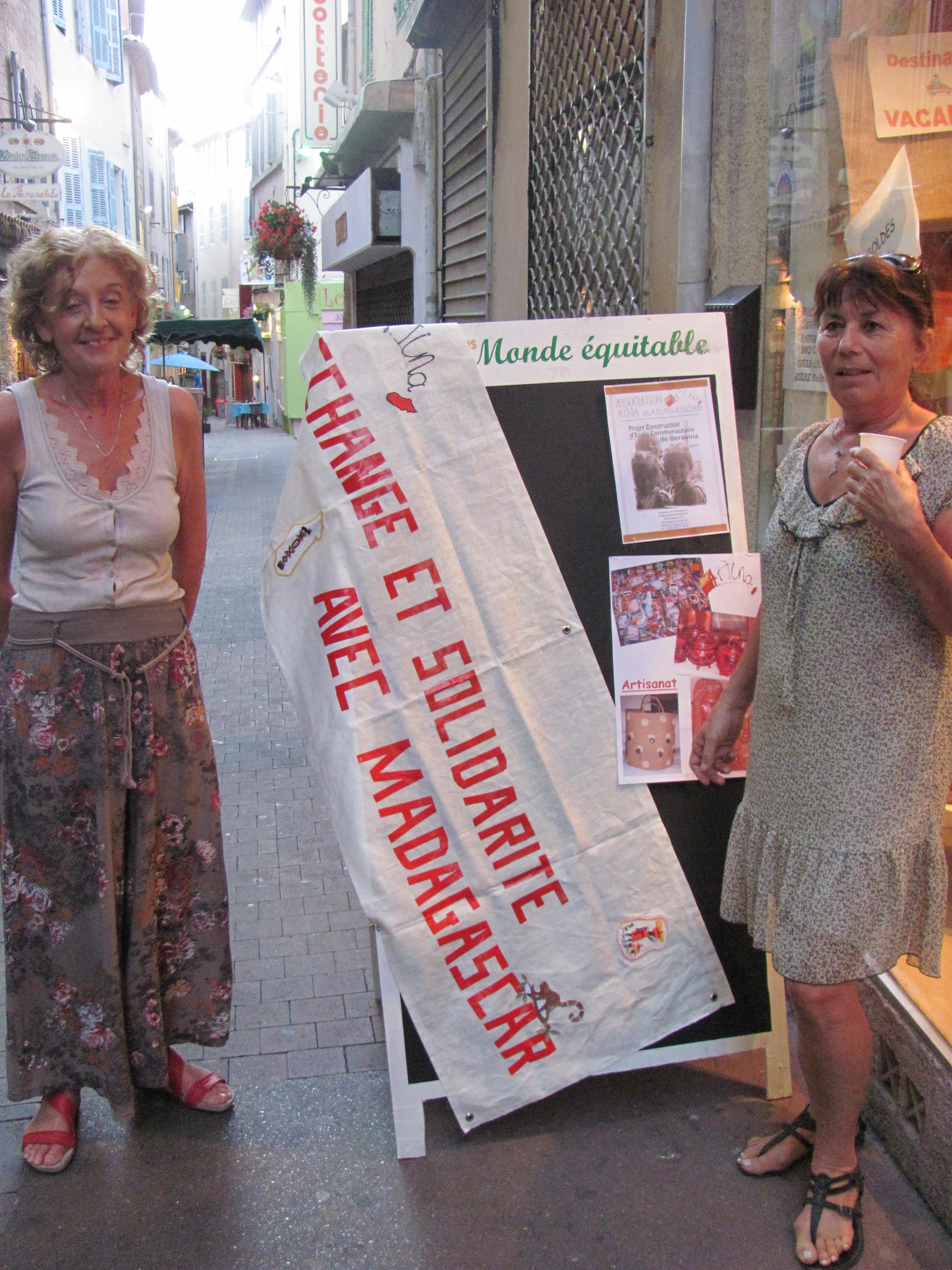 Agglo Consommateur Solidaire – AINA : Solidarité avec Madagascar à Aubagne !