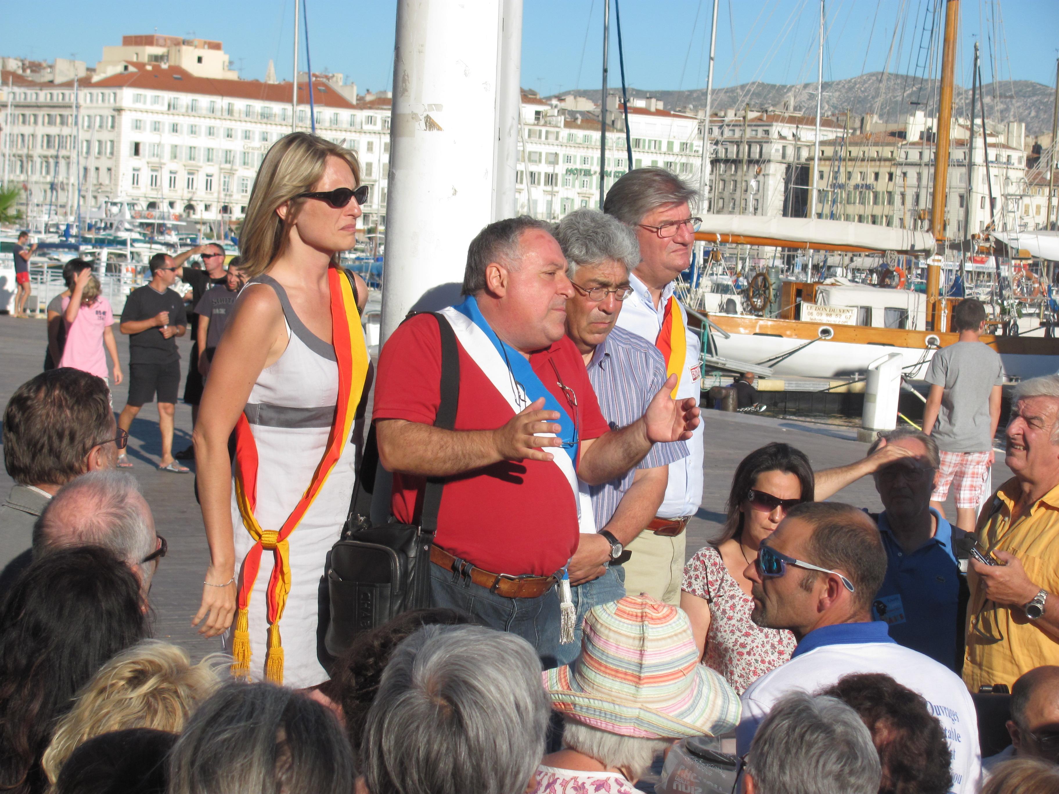 Roms : La mairie de marseille a fini par ouvrir la porte au dialogue!