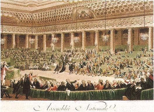 Le 4 août 1789, les États généraux, devenus Assemblée Constituante depuis le 7 juillet, décidaient et votaient l'abolition des privilèges.