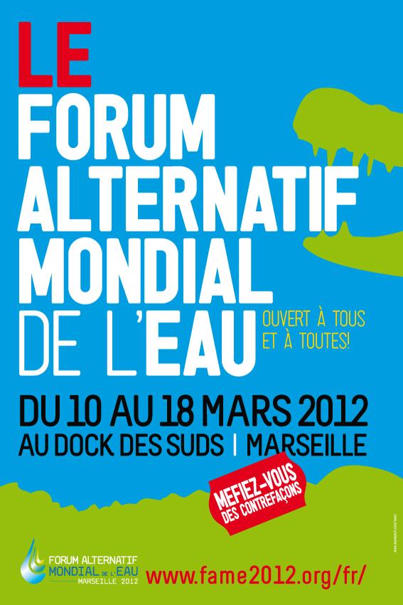 (1) Fête de l'Huma : Le Front de Gauche Avec le Forum Alternatif Mondial de l'l'Eau !