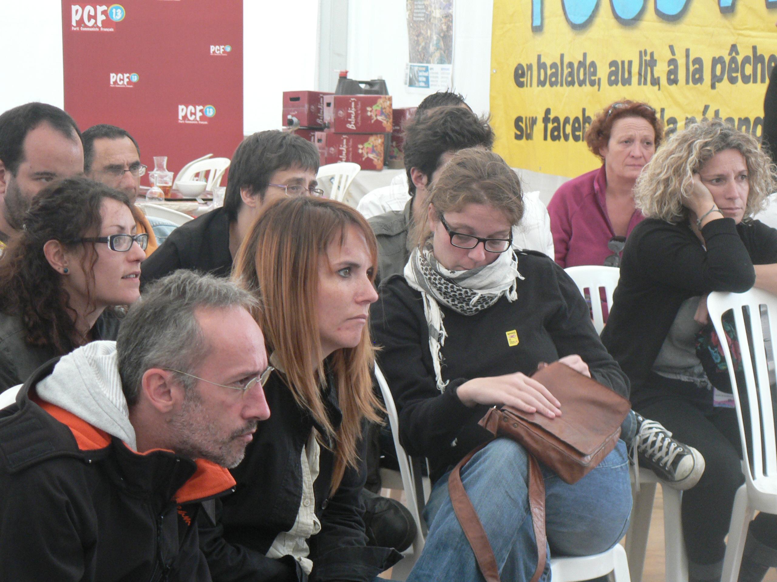 (2) Fête de l'Huma : les communistes des Bouches du Rhône mettent en débat le service public de l'Eau !