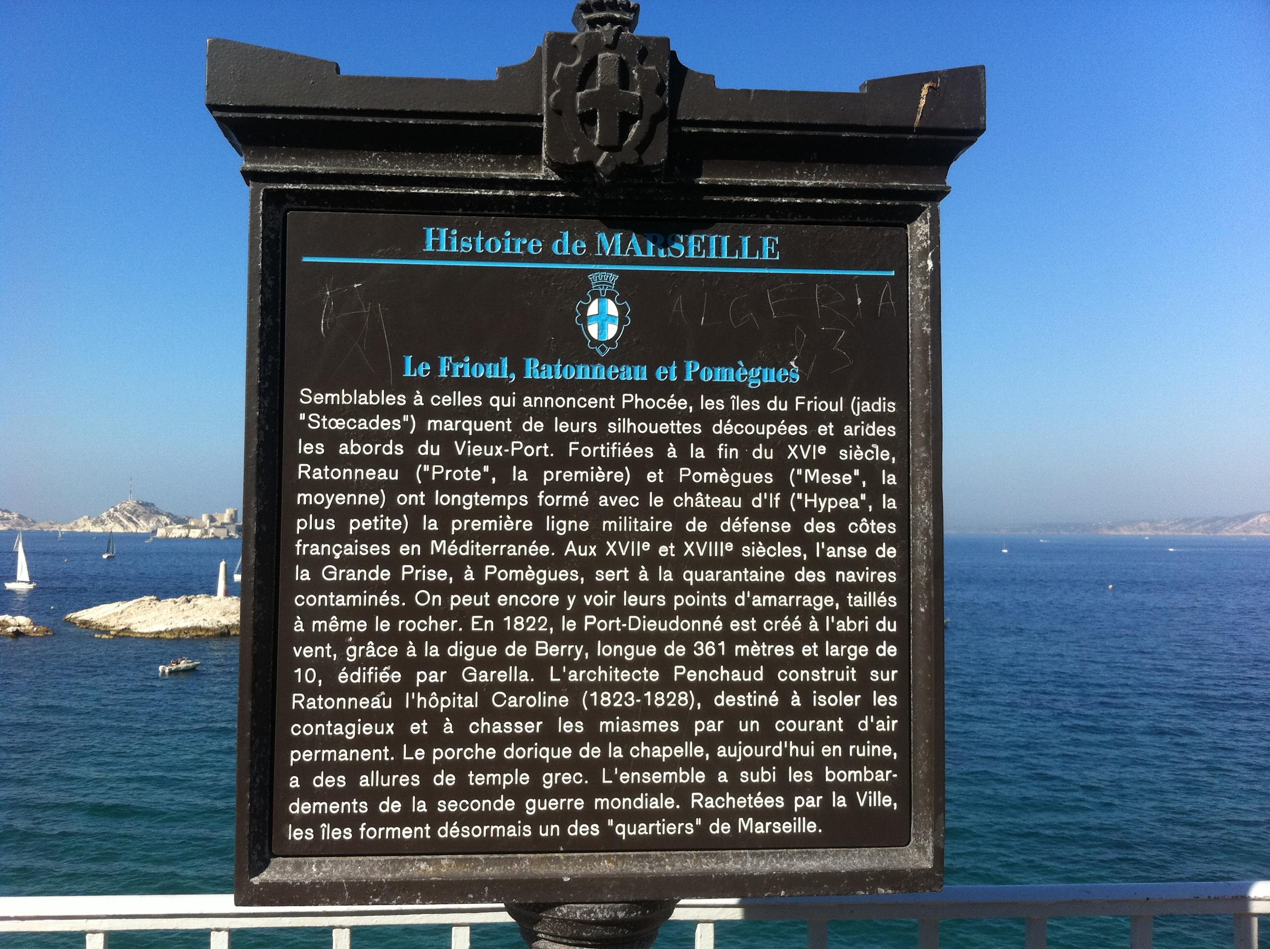 Pour le Weekend : Visite de l'Archipel du Frioul !