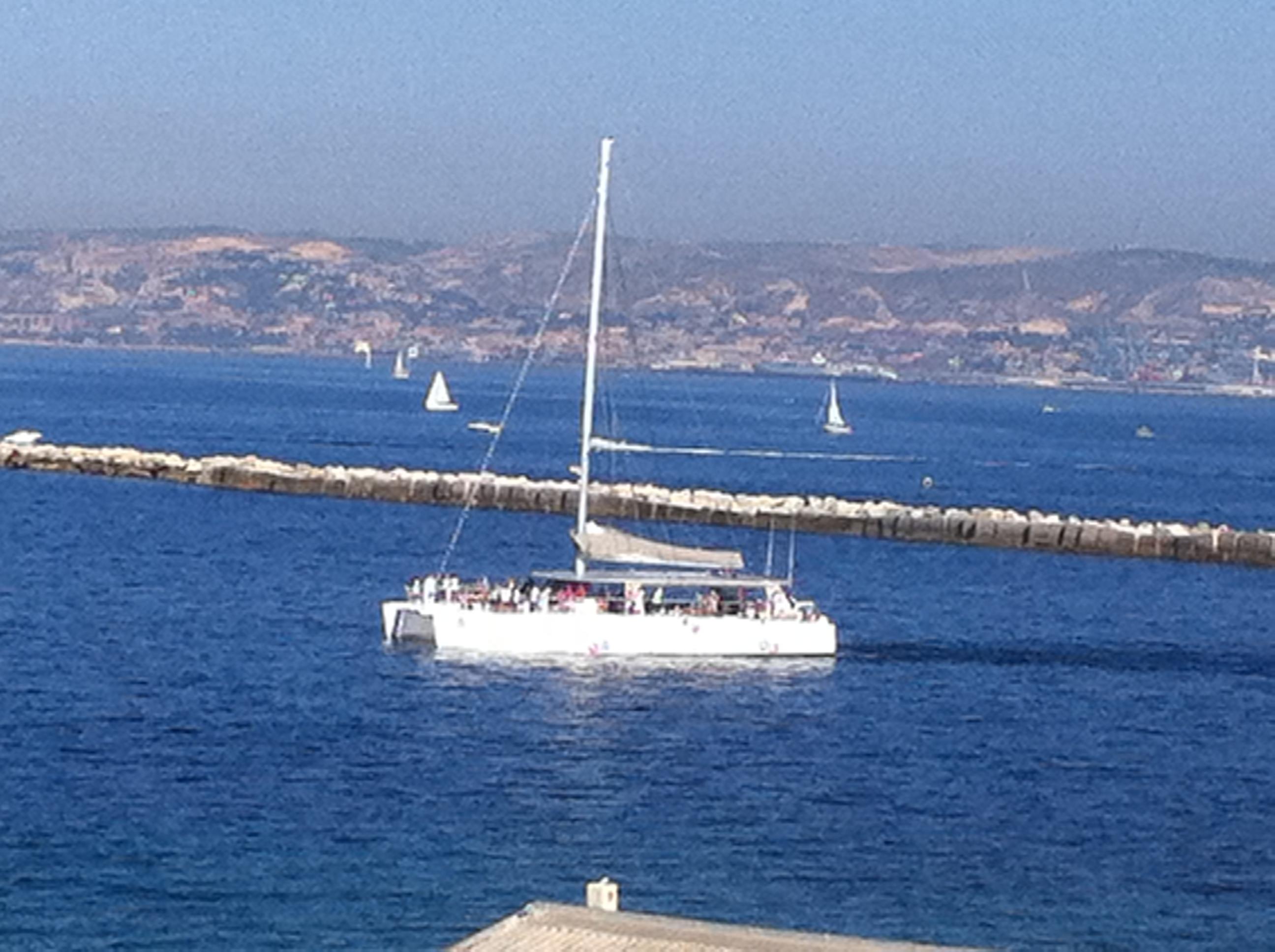 Dimanche : Que du bonheur dans la rade de Marseille !