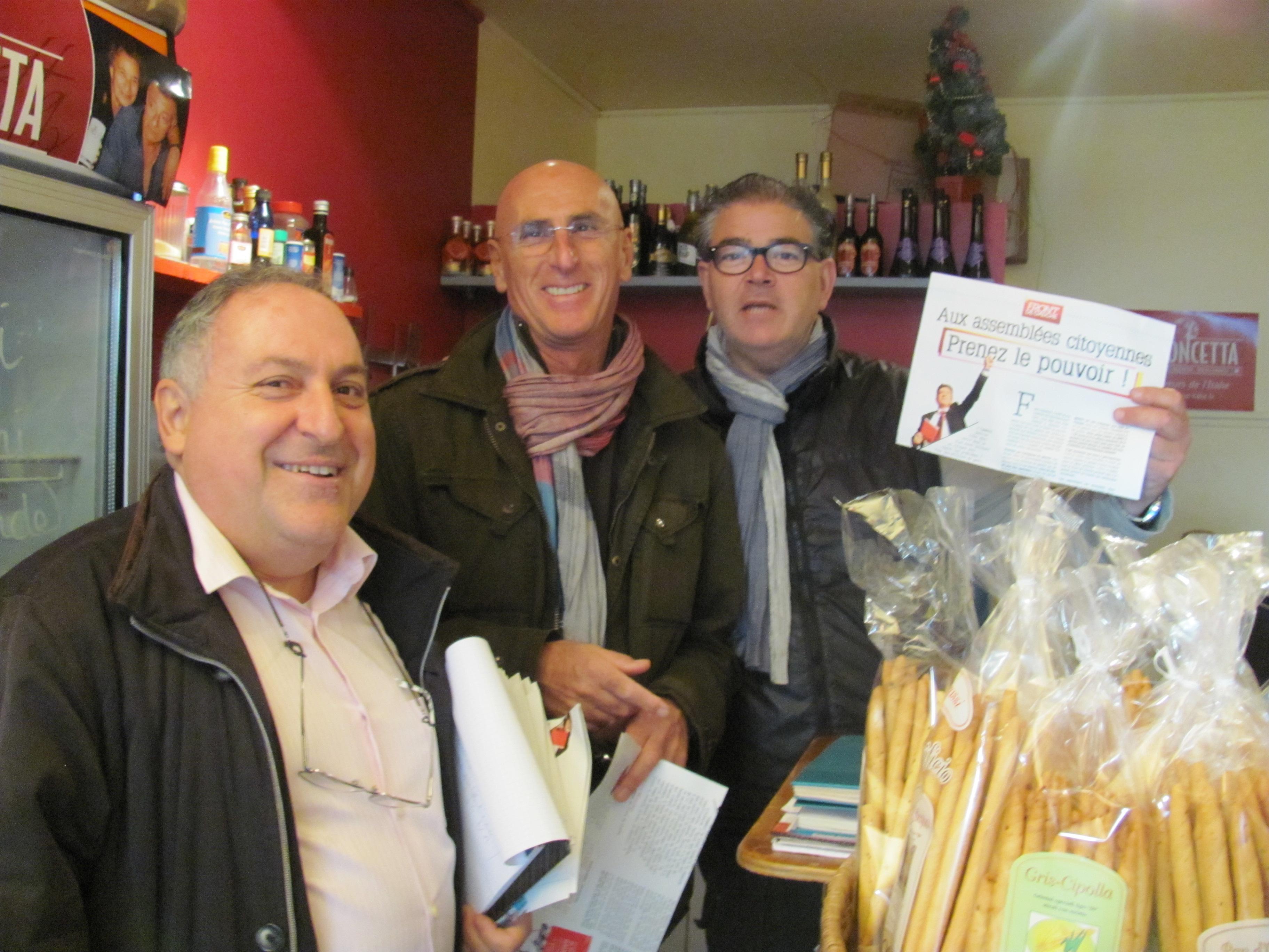 (1) Carnet de Campagne : Quartier St Lambert , Bon accueil chez les commerçants !