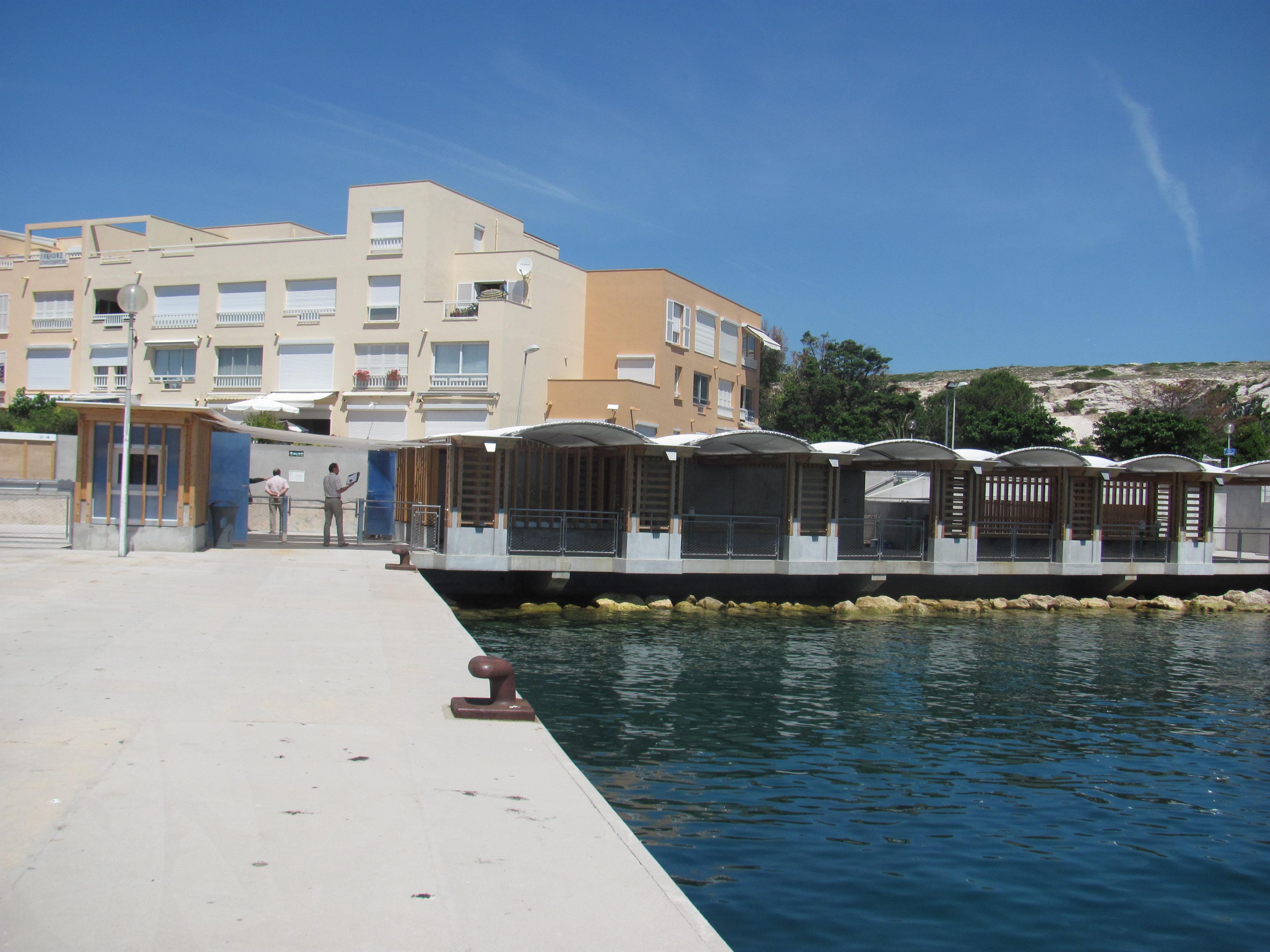 Frioul : la livraison de la Gare Maritime du Frioul est programmée pour le 29 juin !