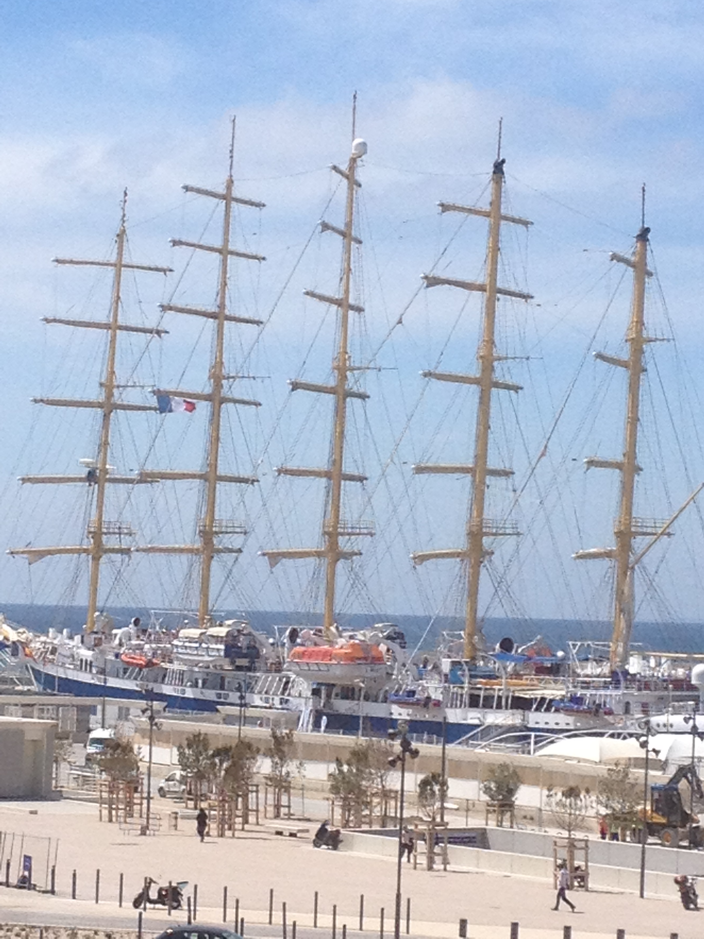 Escale à Marseille devant le MuCem !