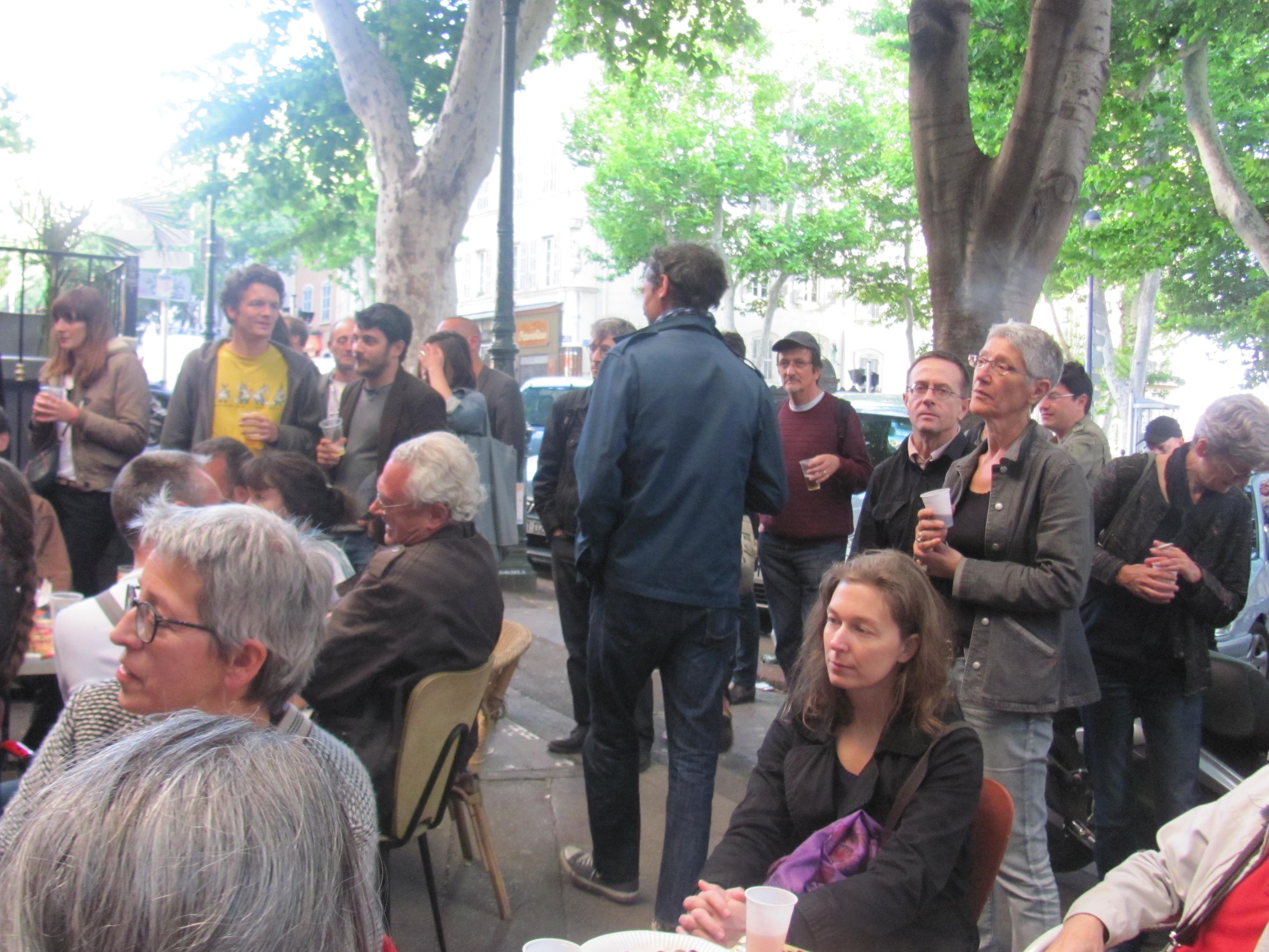 Mariage pour Tous : Le Front de Gauche fait la Fête à la plaine à Marseille !