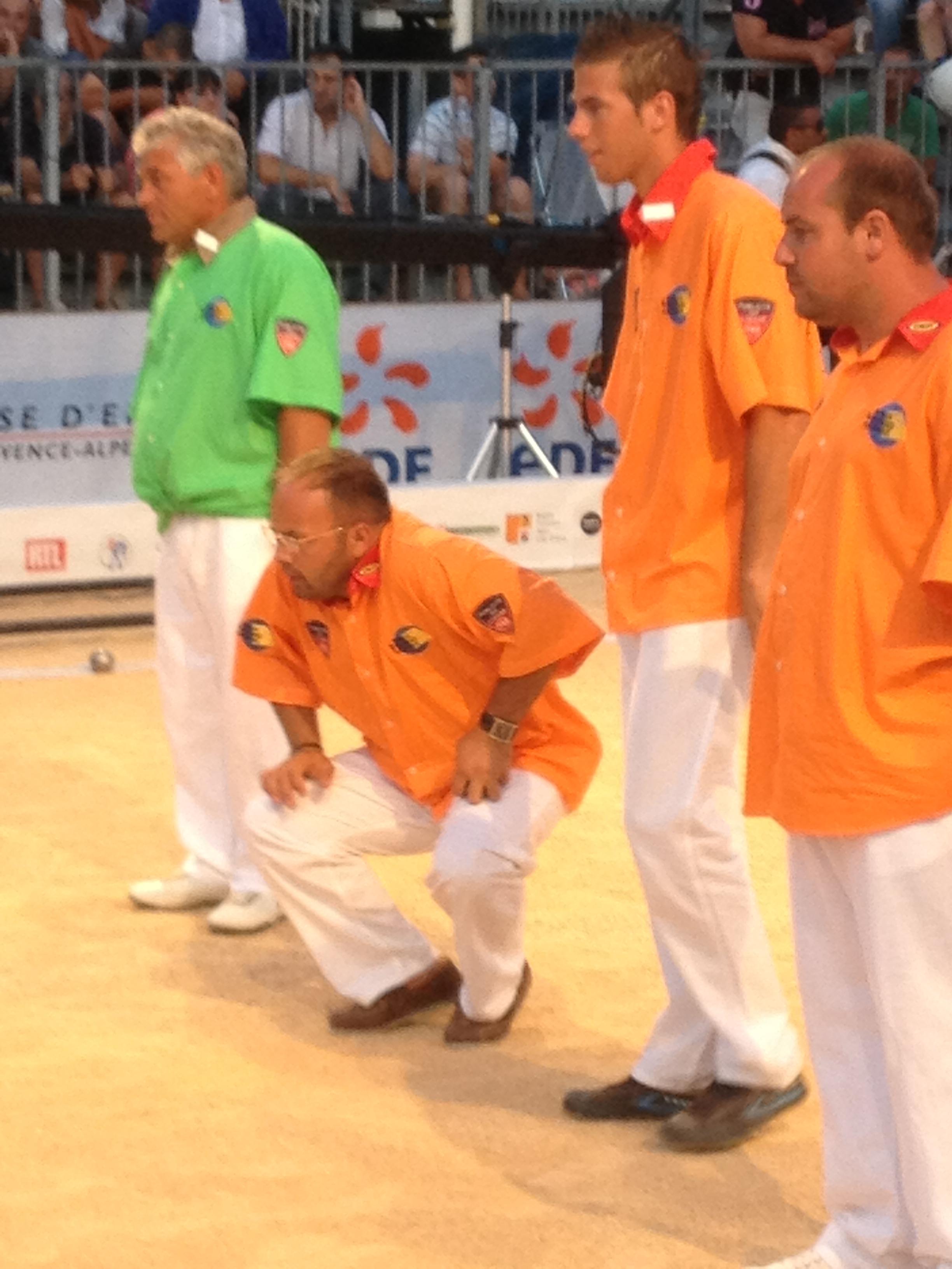 Mondial à Pétanque : Rocher-Robineau-Dubois vainqueur du Mondial 2013 La Marseillaise!