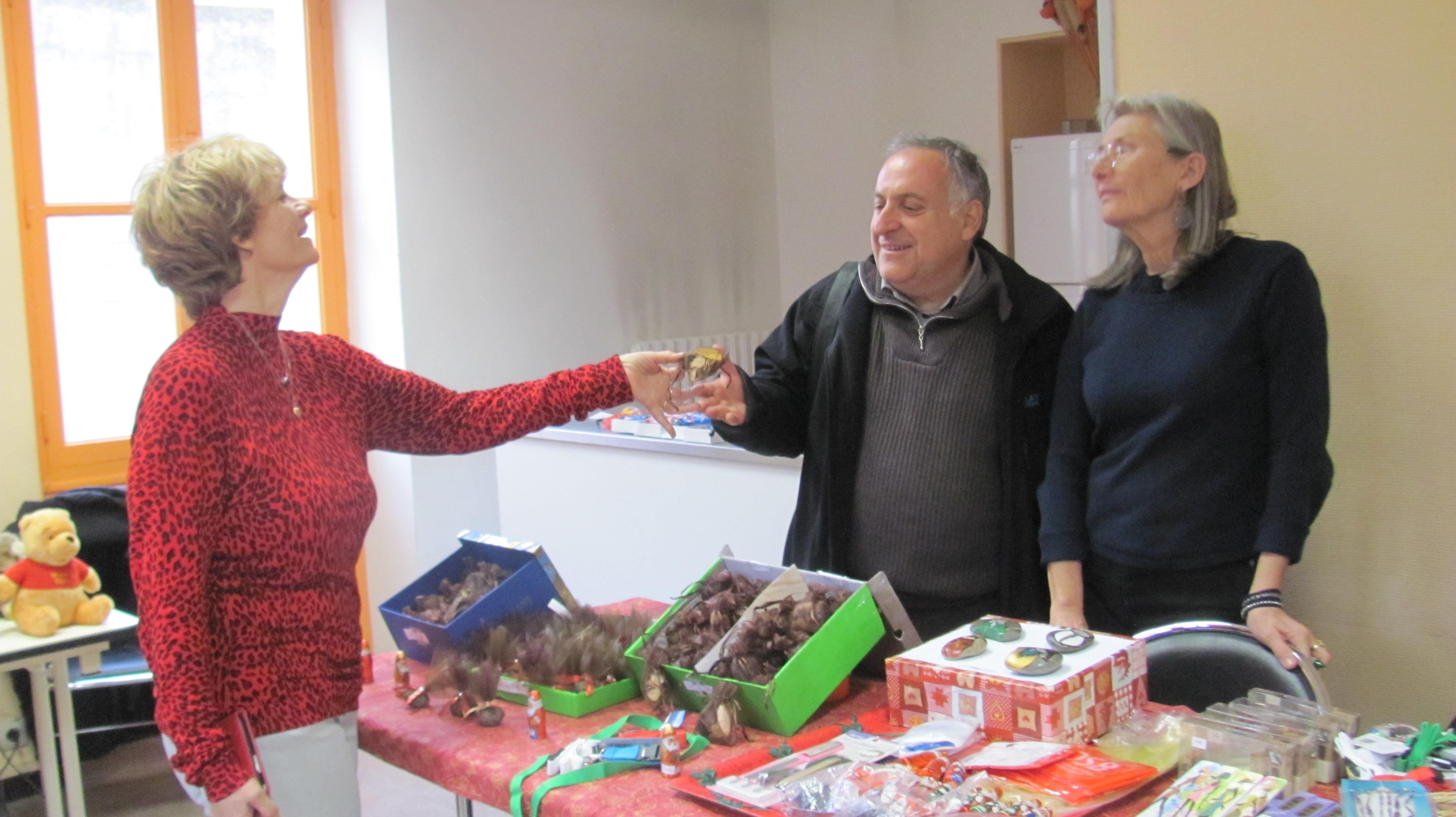 Braderie de Noël, sur la Corniche, à la Maison du Citoyen !
