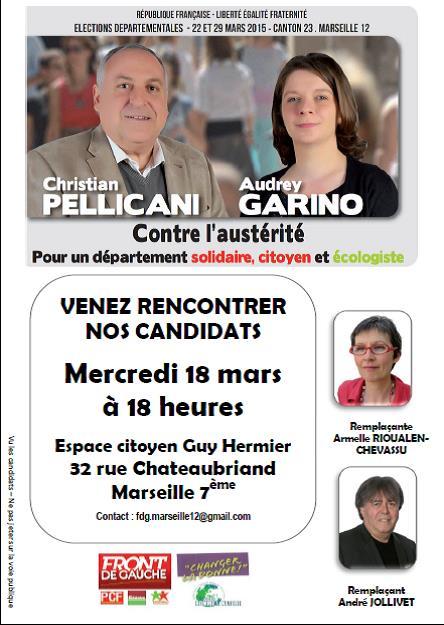 (11) Départementales : Venez rencontrez les candidats, pour un département solidaire, Citoyen et écologiste.