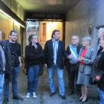Rassemblement devant le 29, bd de la corderie, 13007 Marseille