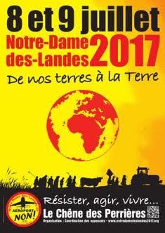 « De nos terres à la Terre-Résister, agir, vivre »