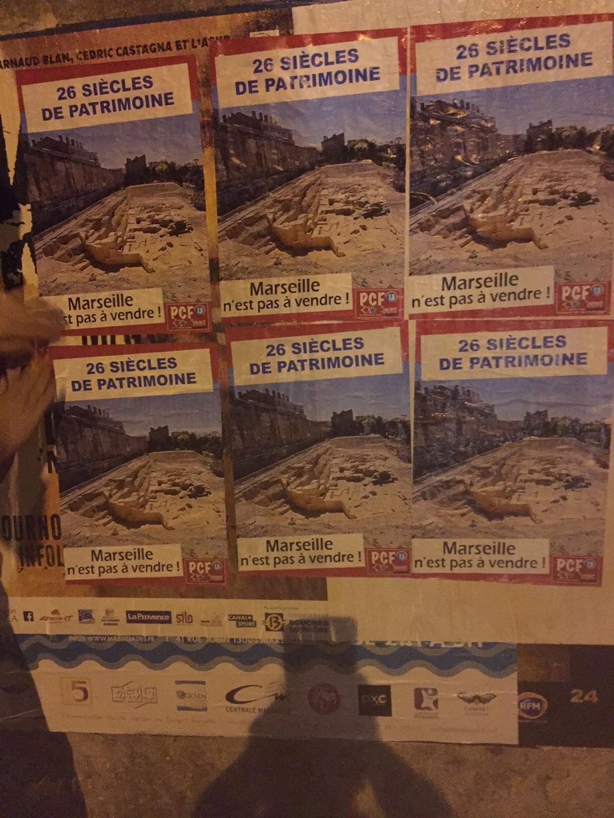 (17) Les vestiges  Grecs de la Corderie s'affichent !