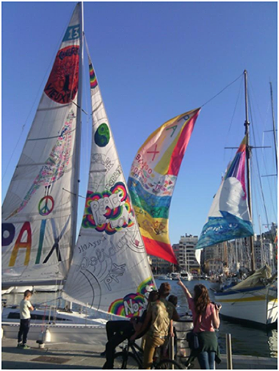 23 septembre 2017 : Voiles de la paix en rade de Marseille