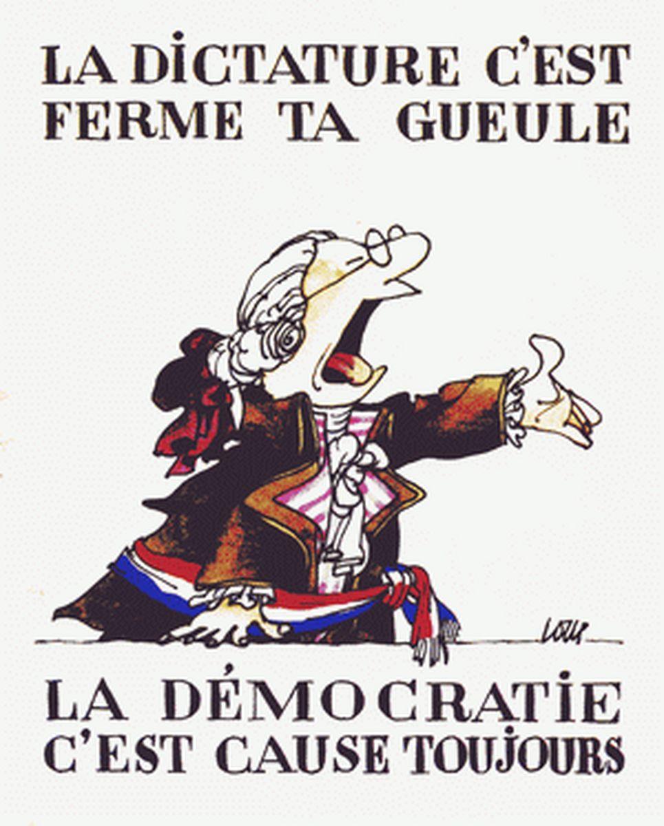 Rappel : La démocratie représentative et le suffrage universel sont-ils solubles dans «le tirage au sort des candidats ou des élus»?