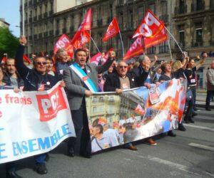 Les élus communistes de Marseille en première ligne