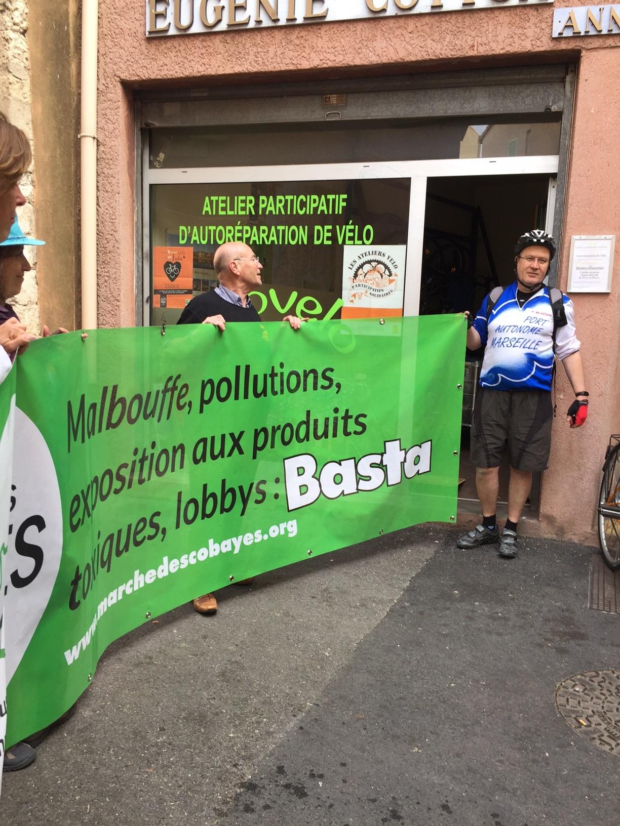 Martigues : Etape 2 de la Marche «Vérité et justice pour la santé environnementale»