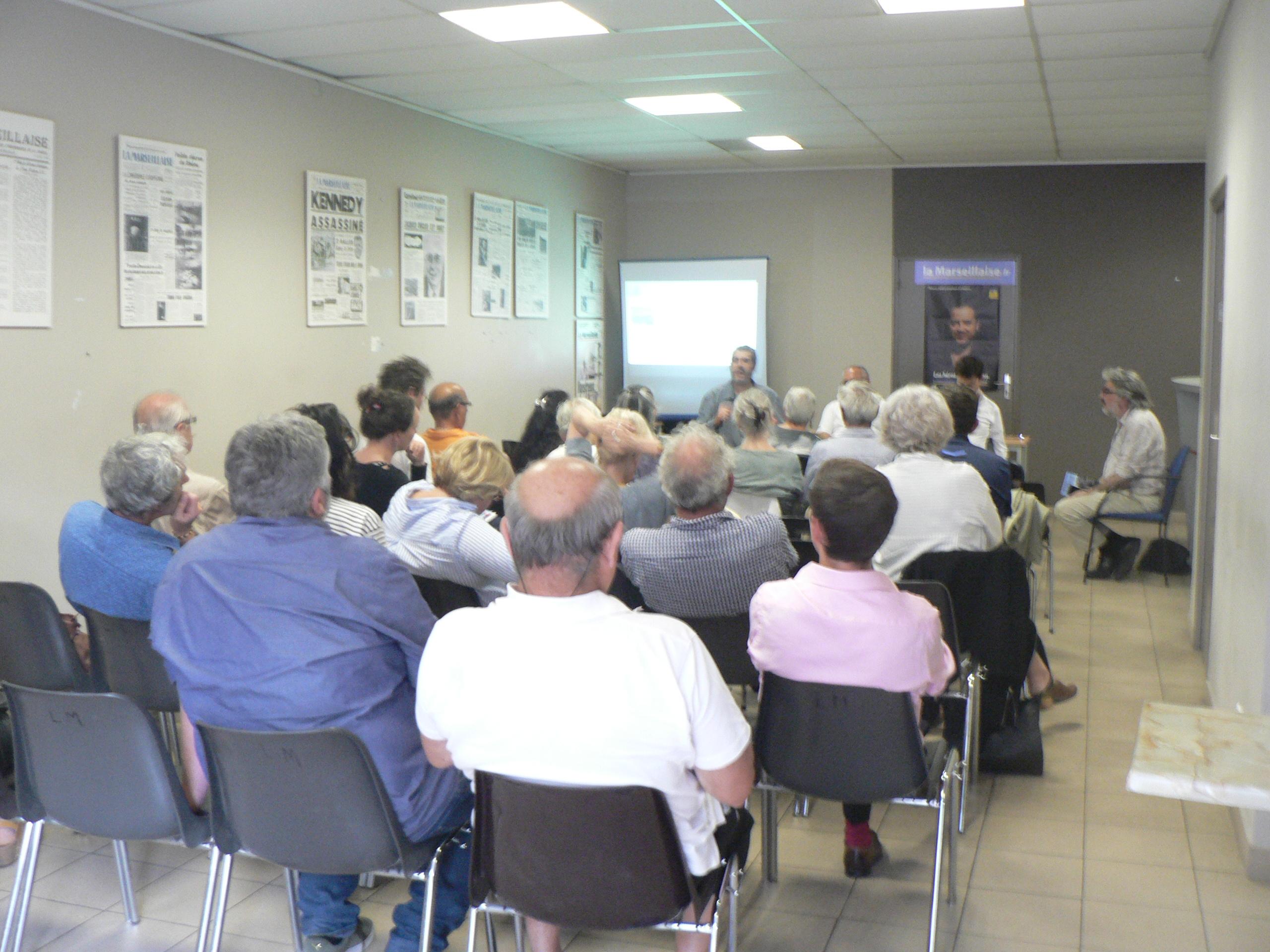 Confrontation à la Marseillaise sur les sujets développés dans «Rêver Marseille, pour un autre développement» !