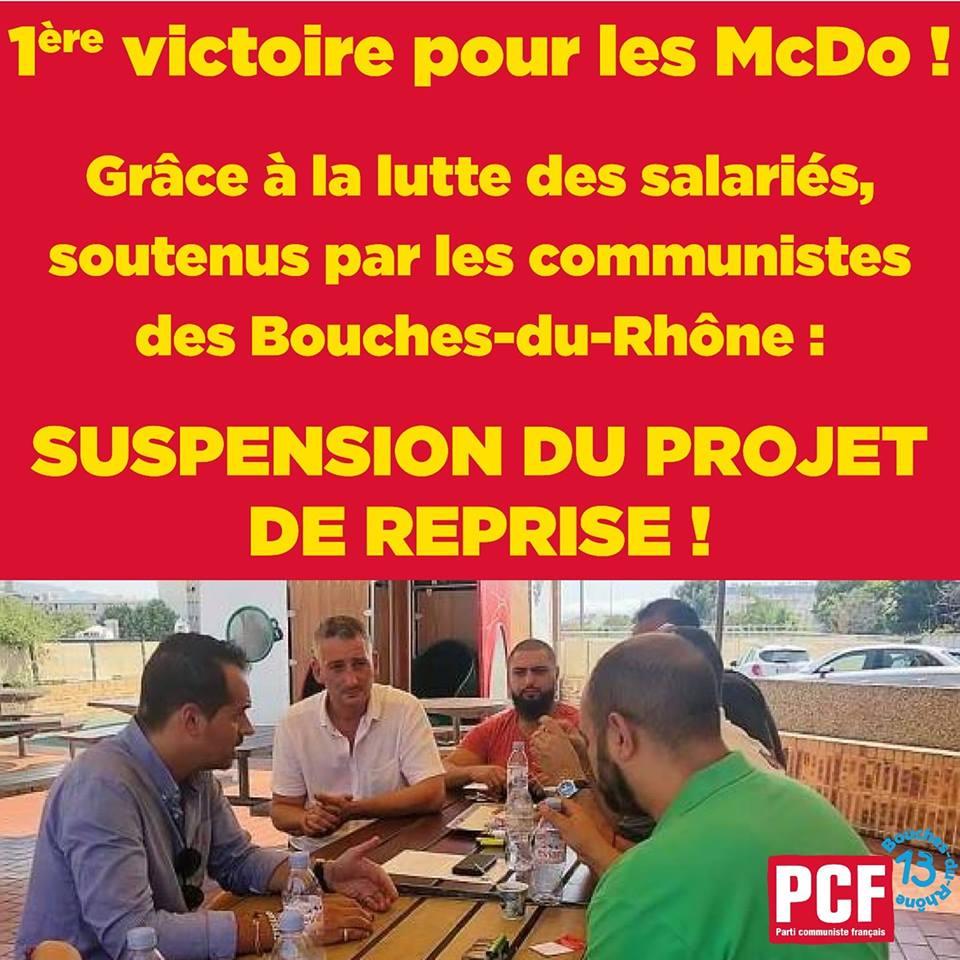 1er Victoire pour les McDo !