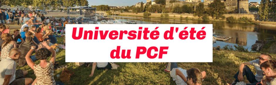 (1) Congrès PCF du 23 au 25 novembre 2018 mais avant l'université d'été à Angers fin Août