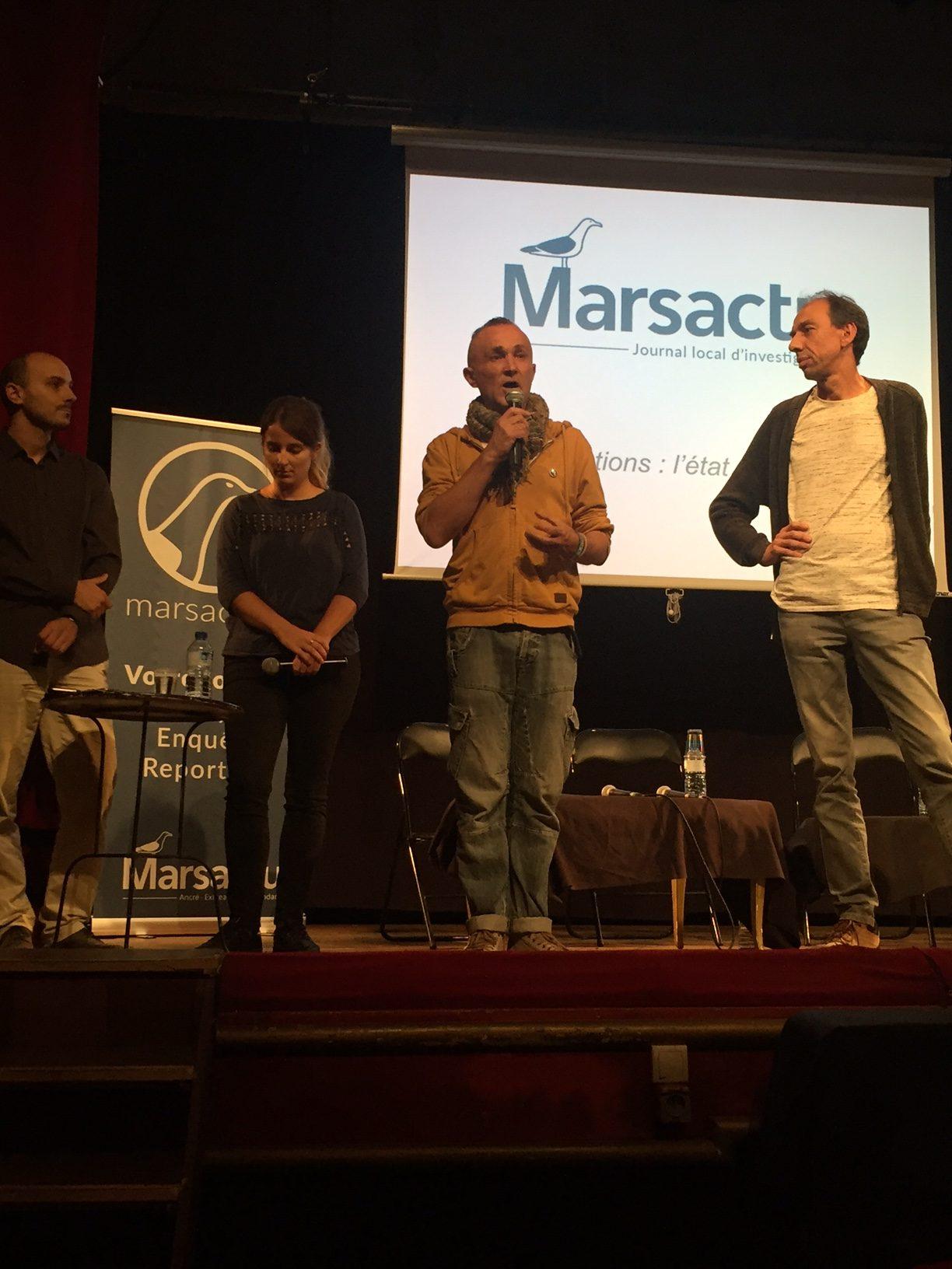 (1) L'urgence associative en débat au Théâtre de «l'œuvre  à Marseille»