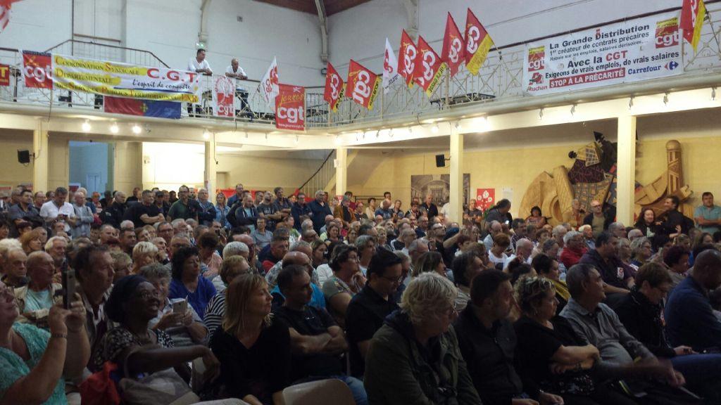 Jeudi 11 octobre : Une journée dense pour les syndicalistes du local au global
