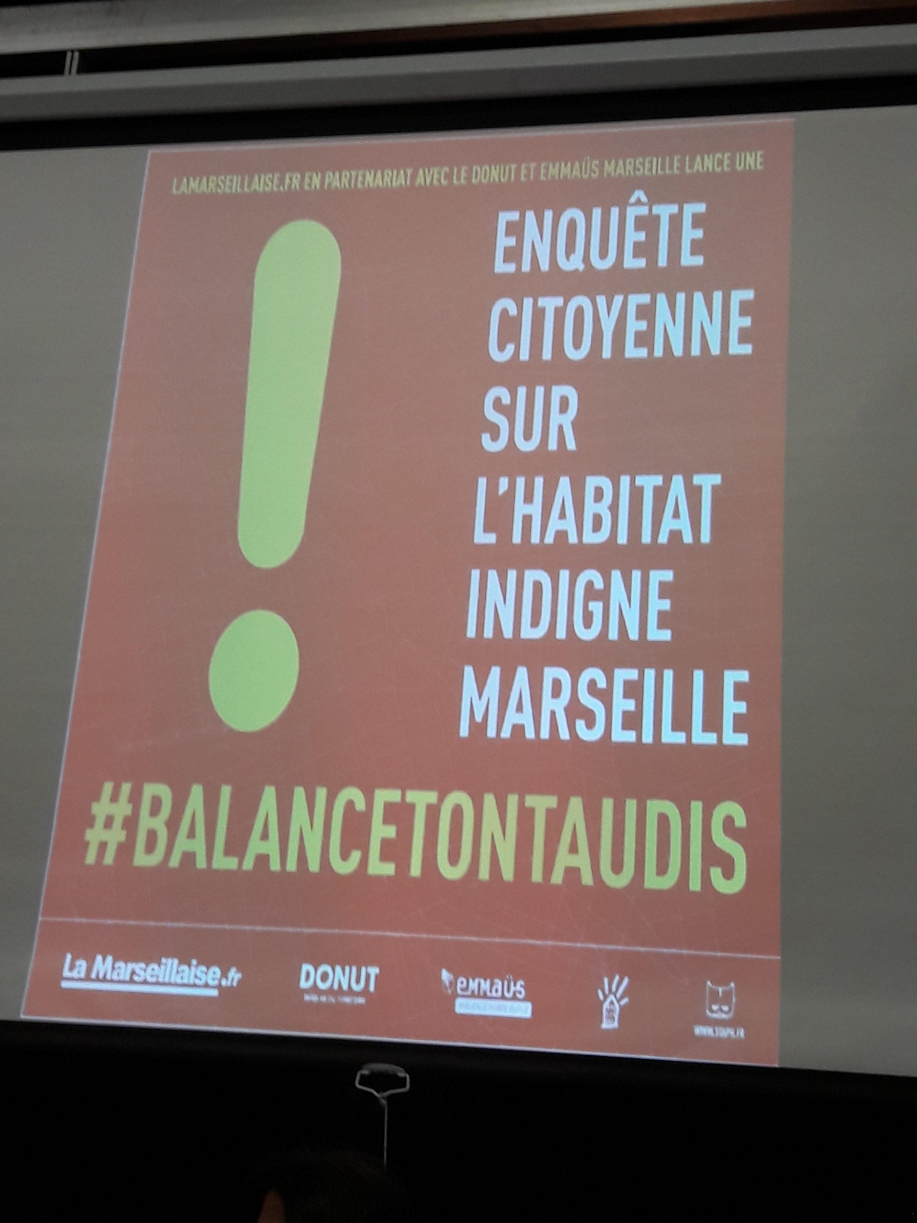 Enquête Citoyenne sur l'habitat Indigne : Émotion et combativité dans la Salle des Rotatives