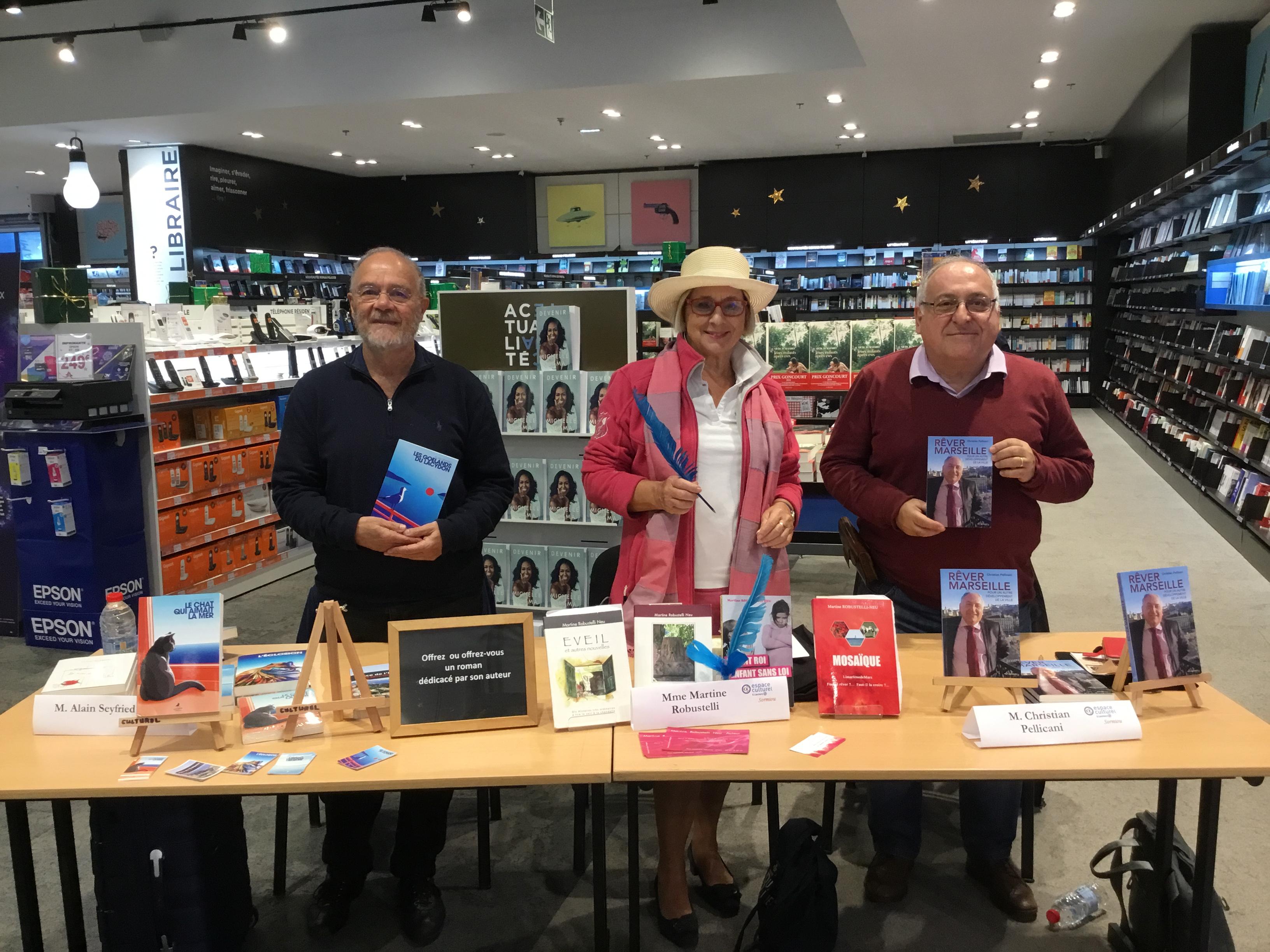 Rêver Marseille à Sormiou et au Carré des écrivains au Centre Bourse