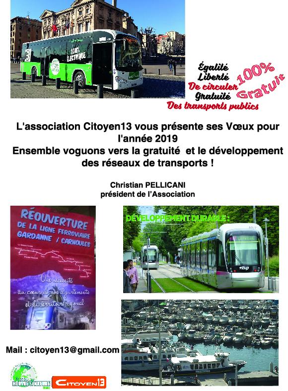 Transports : la gratuité c'est possible sans démagogie, c'est un choix de société, un choix politique !