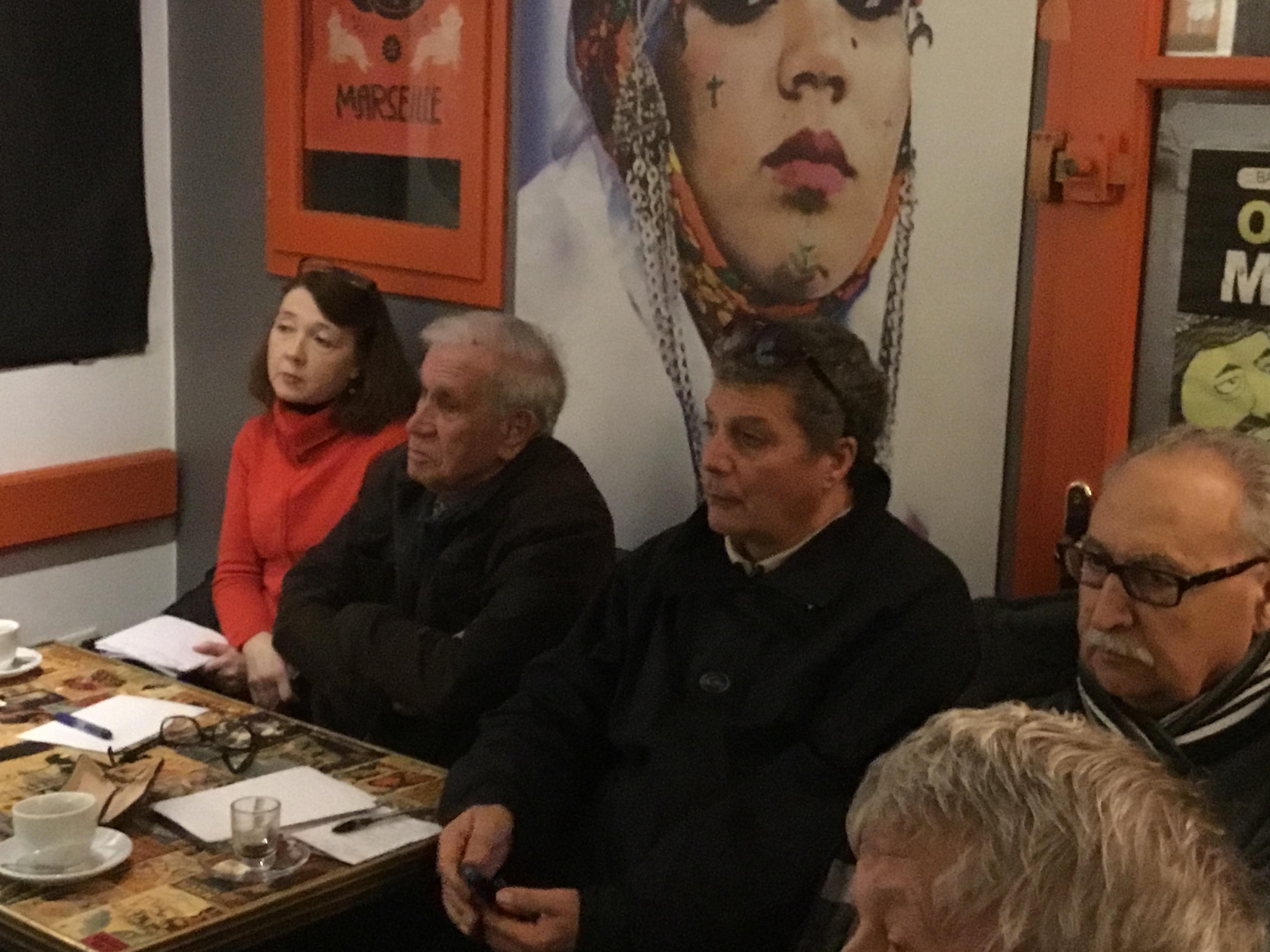 Logements indignes, insalubres, bilan de la  rénovation  du quartier du «Panier» (2em arrondissement) au menu de la rencontre de cette fin d'après midi place de Lenche.