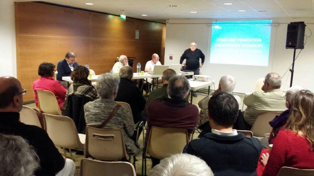Rencontre Nationale à IVRY sur Seine sur la transition énergétique avec le MNLE