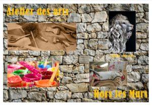 Nous portons un projet qui vise à revenir dans l'Atelier des Arts en s'appuyant sur des actions et du travail Hors les murs !