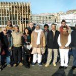 Avec la délégation d'ONG Indiennes contre la gestion des politiques publiques de l'Eau par le conseil mondial  de l'eau en réunion à Marseille