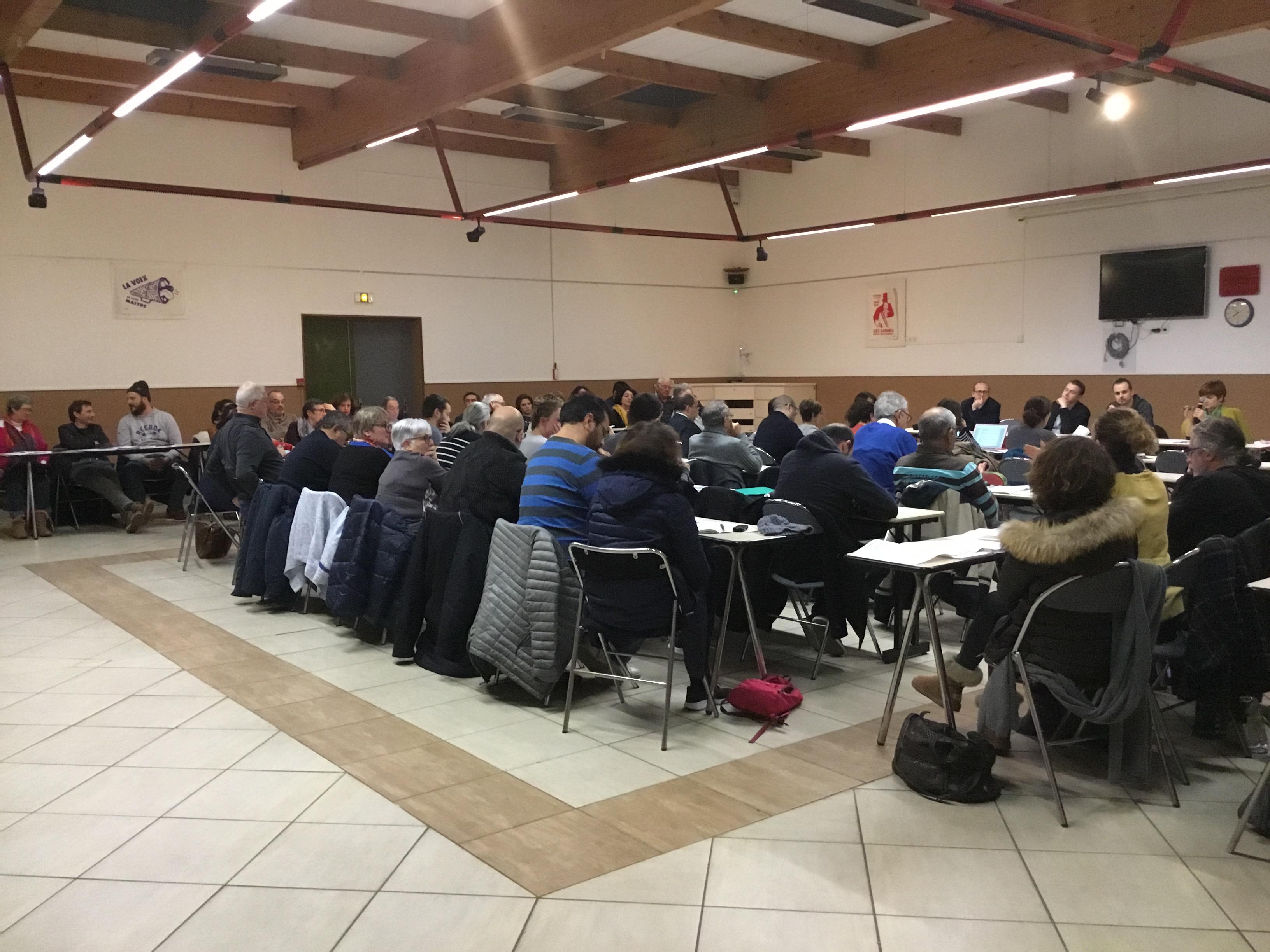 Conseil Départemental des Communistes des Bouches du Rhône : Au menu, les actions avec le mouvements social et les Gilets Jaunes, les élections Européennes et l'implication des militants sur Marseille
