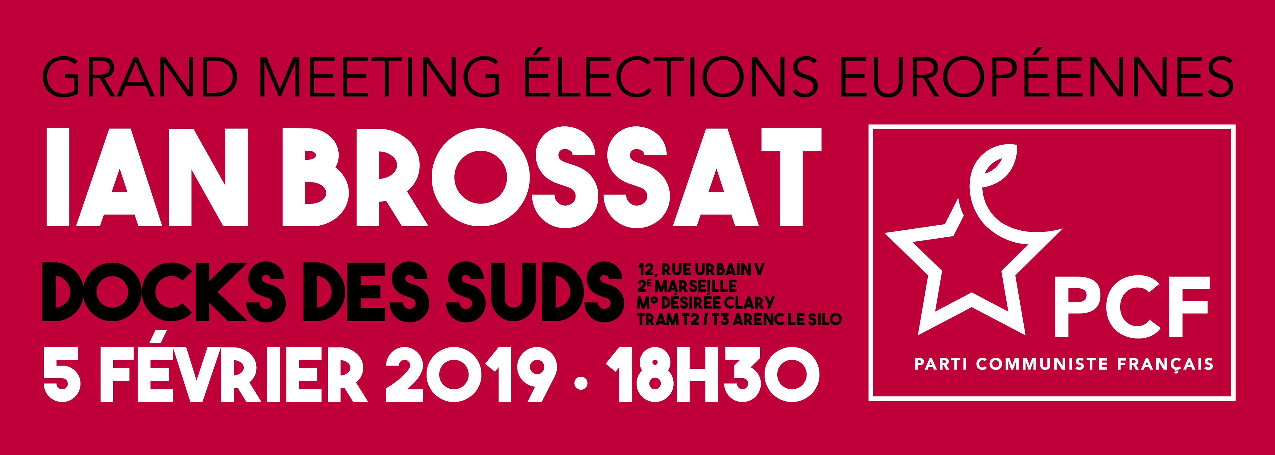 Européenne : lancement de campagne avec Ian Brossat