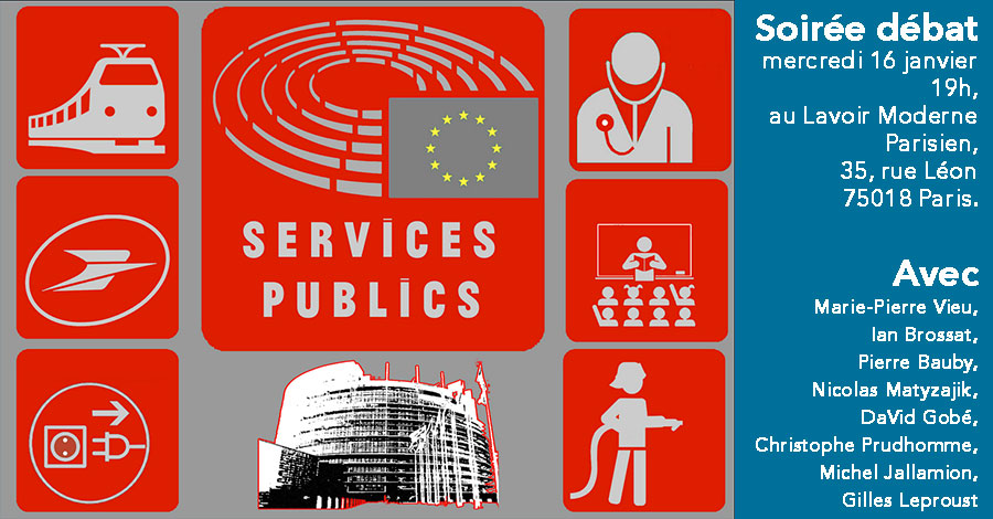 Une idée à reproduire localement : Mettre en débat la question des services publics.