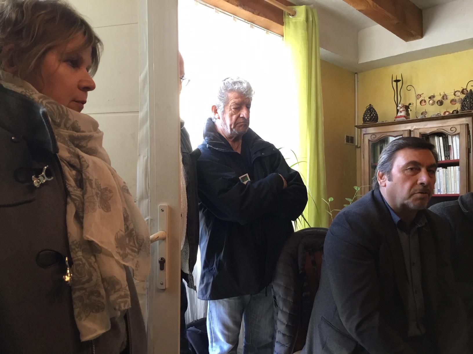 Rencontre débat et compte rendu de mandat de >jean Marc Coppola et Christian Pellicani à Montolivet (12e) arrondissement de Marseille