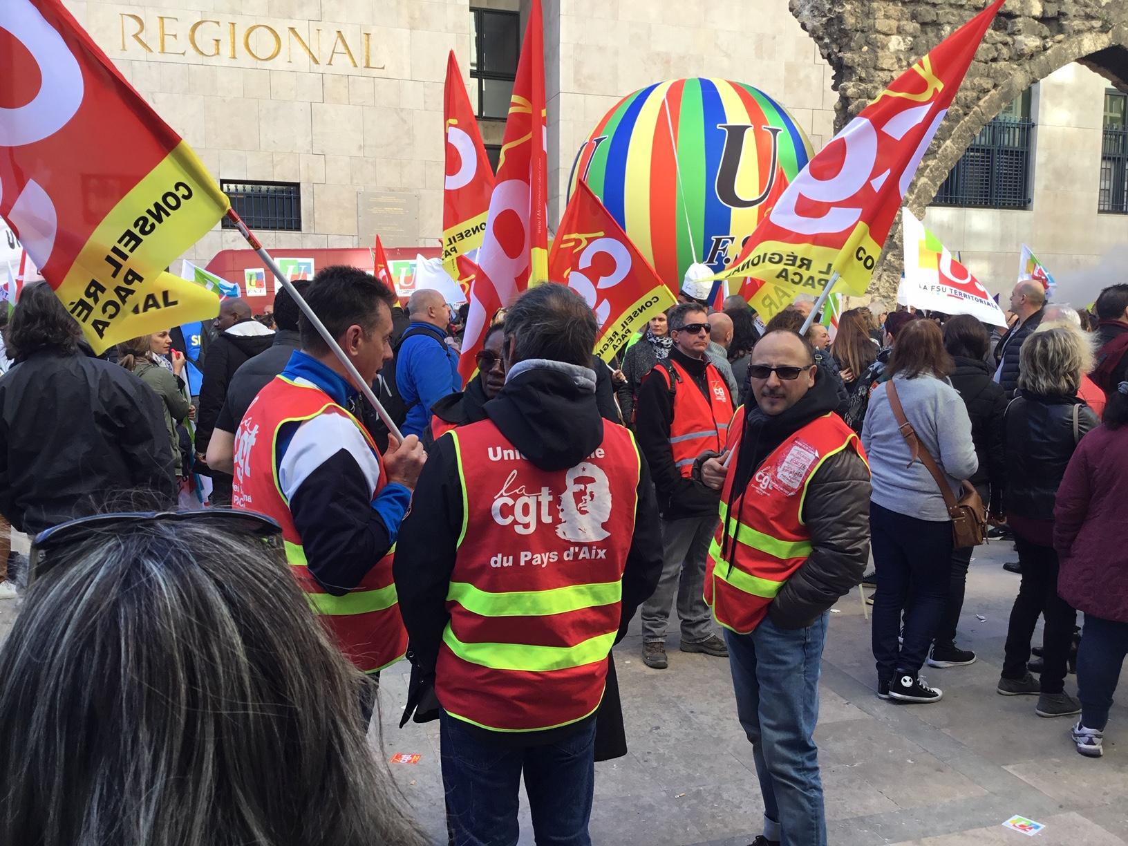 Journée d'action, de mobilisations et de grève le 19 mars CGT, FO, Solidaires, UNEF, UNL, UNL-SD