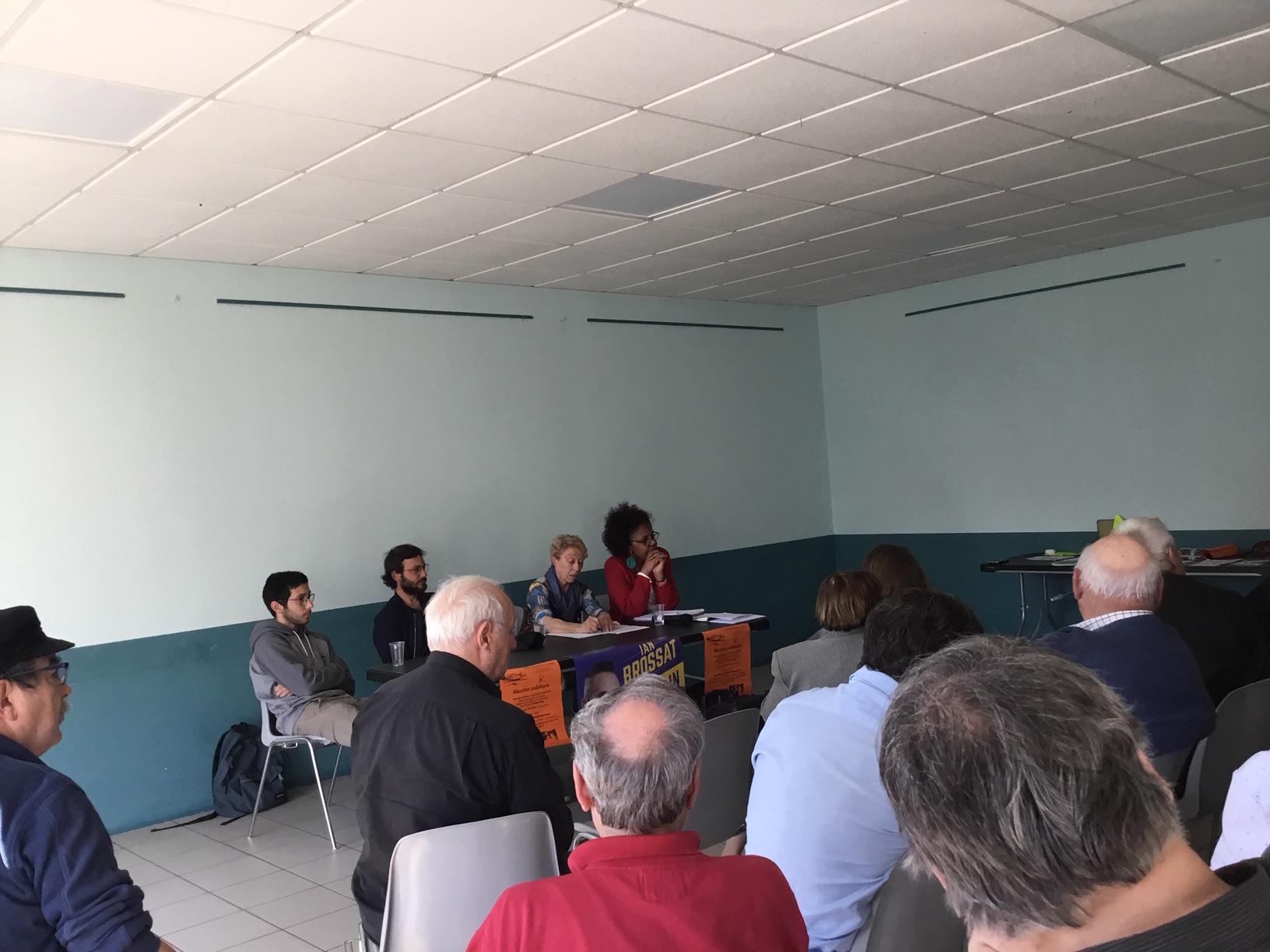 (7) Européenne débat à Taussat commune de Lanton : Rencontre avec Arthur Hay, candidat sur la liste de Ian Brossat