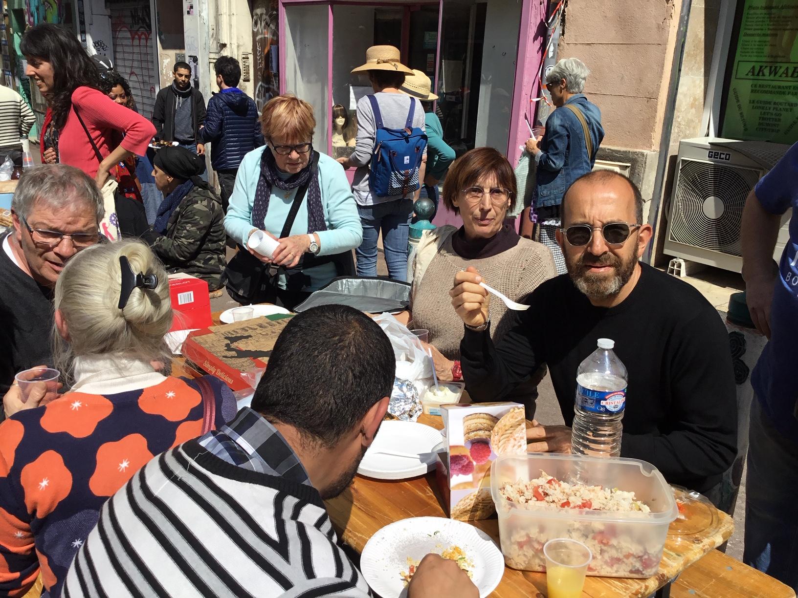 Noailles : Fraternité et mobilisation des habitants, des associations et du collectif du 5-Novembre !
