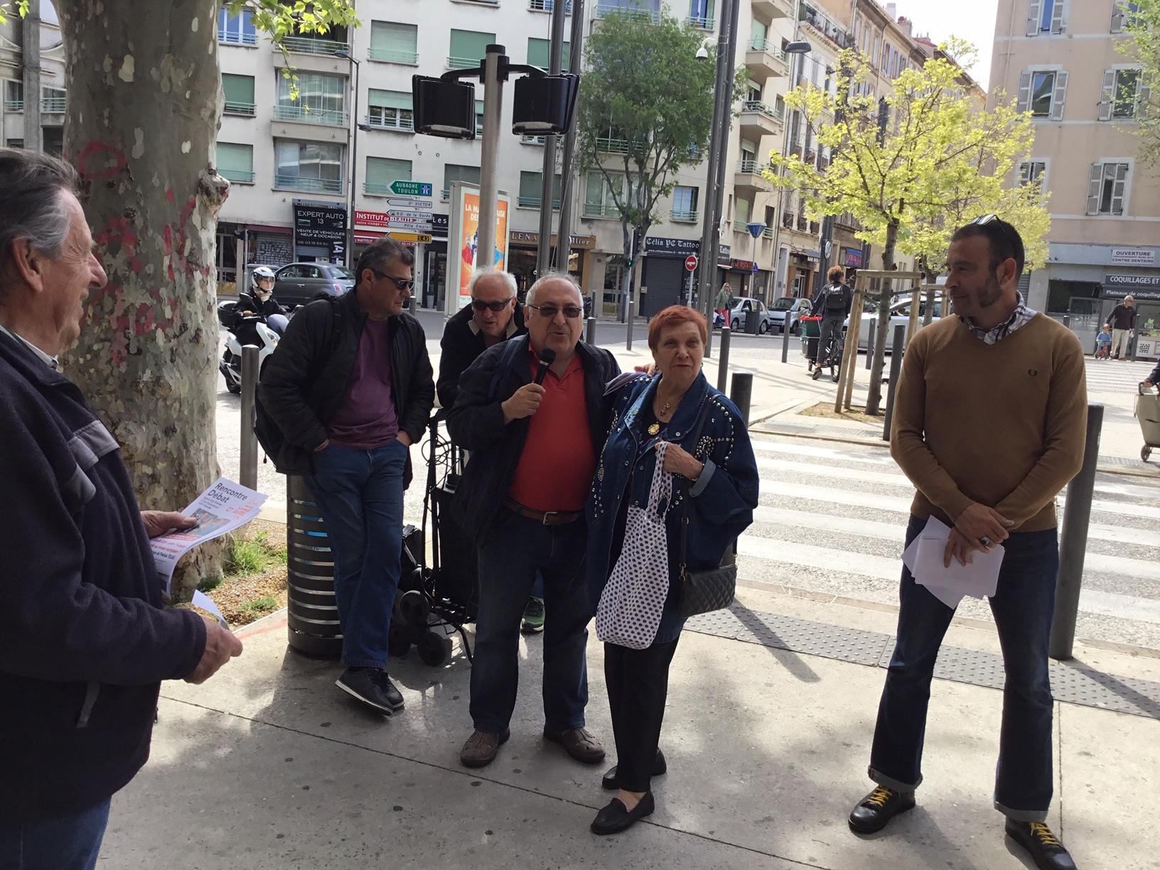 (13) Européennes : les points de rencontres sur la Corniche et au Quatre Septembre encouragent à emplifier la campagne