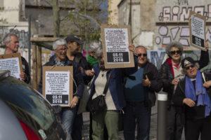 Le Collectif du 5 novembre et les associations mobilisent pour faire entendre la voix des victimes et des délogés.