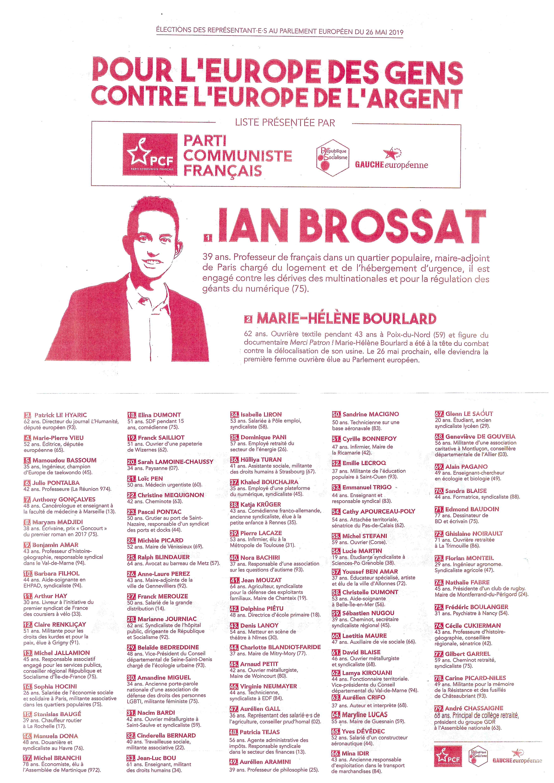 (19) La campagne des élections européennes s'accélère : Finir en beauté le 24 mai à Martigues pour le dernier meeting & Dimanche 26 mai choisir le bon bulletin de vote !