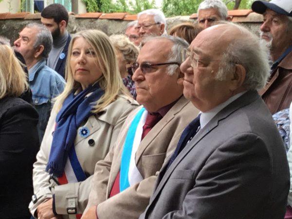 Avec Louis Fabre, président de l'ARAC du 7e arr de Marseille