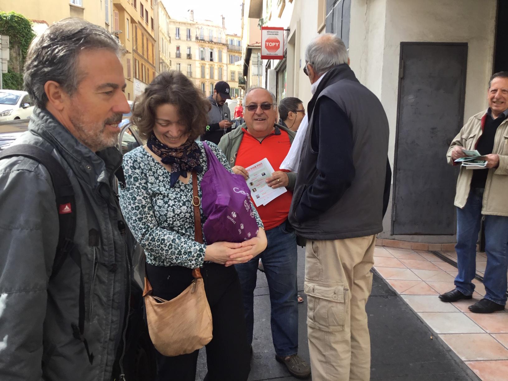 (16) La campagne des élections européennes s'accélère : Tracts, Affiches, rencontres….