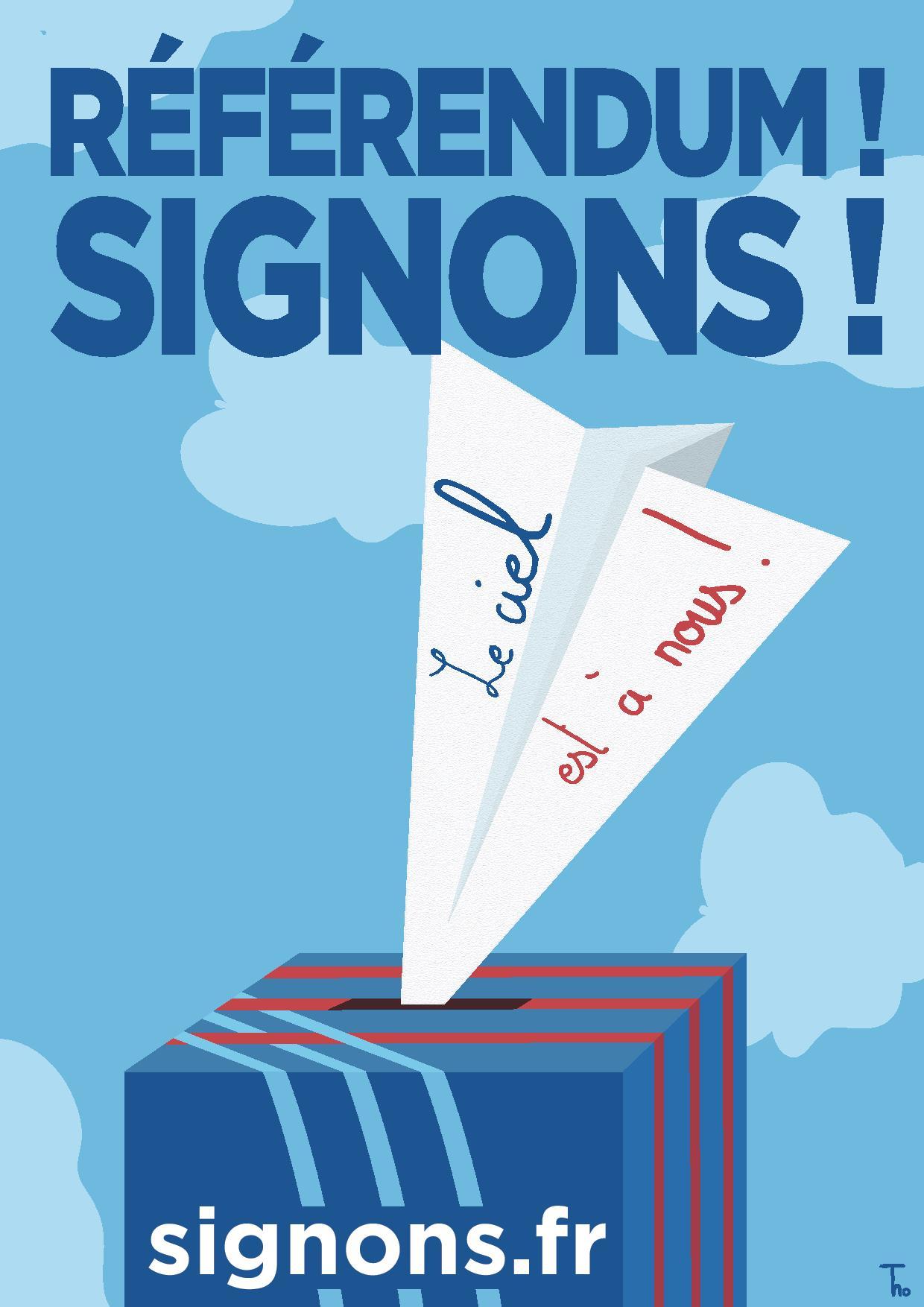 (1) Aéroport de PARIS : ADP le réferendum Signons !